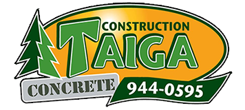 Construction Taiga concrete